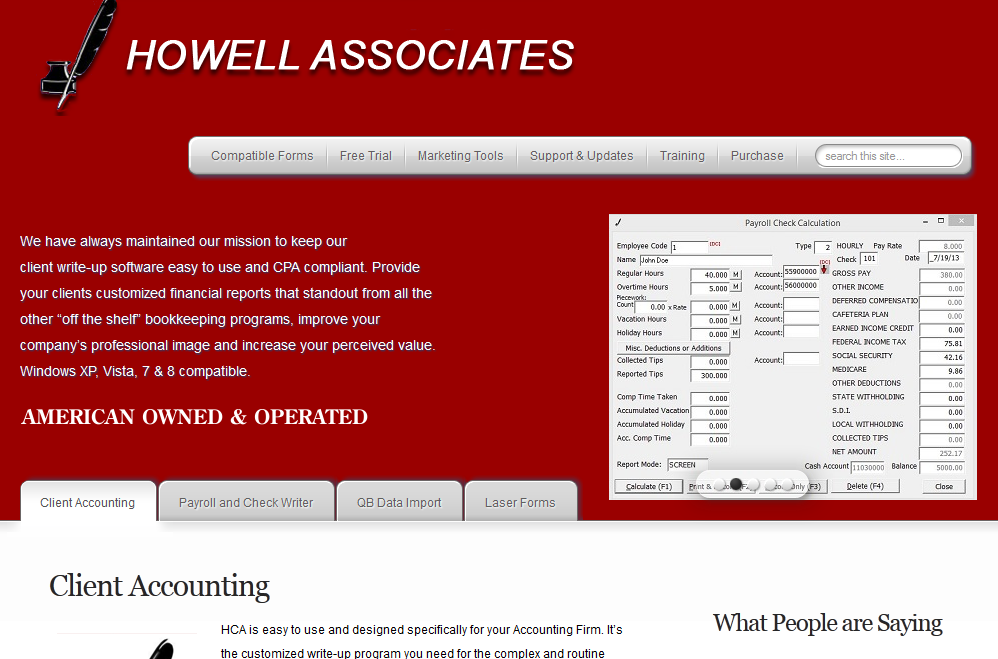 howellsoftware